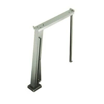 Stainless Steel Protector Assembly w/ Left Hand Fold Down Brackets