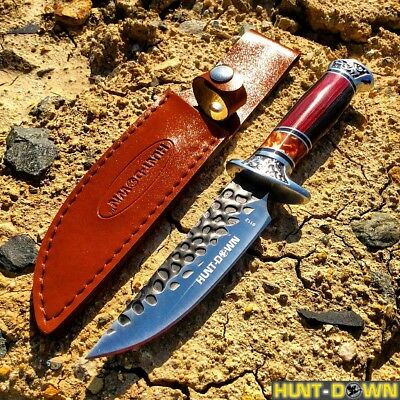 "10"" Hunt-Down Decorative Sporting Knife with Sheath"