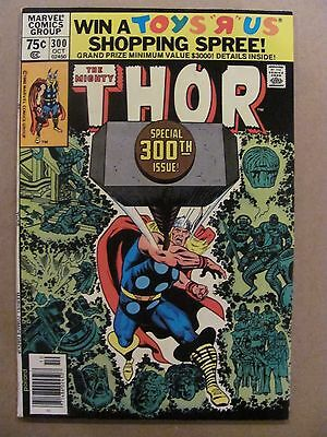 Thor #300 Marvel Comics 1966 Series Newsstand Edition 9.2 Near Mint-