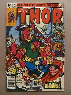 Thor #301 Marvel Comics 1966 Series