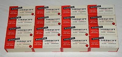 Lot of 16 slide magazines for Airequipt automatic slide changer