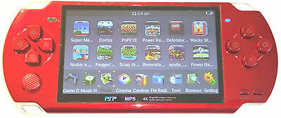 """4GB 4.3"""" Screen MP3/MP4/MP5 Video Game Player 3.0MP Camera - Connect whit TV"""