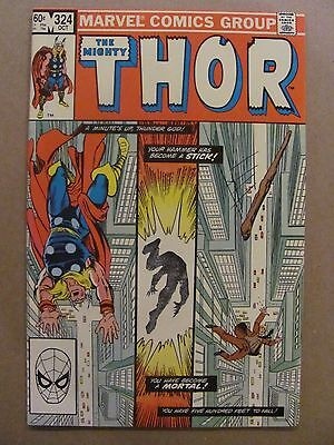 Thor #324 Marvel Comics 1966 Series 9.2 Near Mint-
