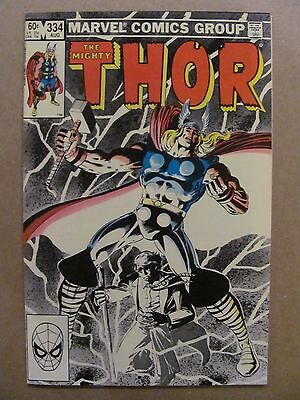 Thor #334 Marvel Comics 1966 Series