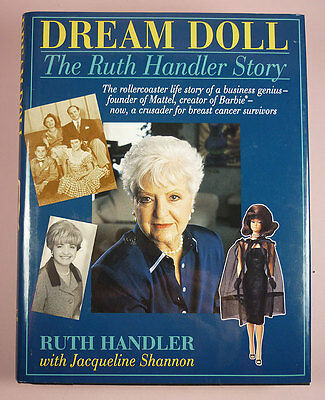 Dream Doll By Ruth Handler - Barbie's Creator's Autobiography - New Copy
