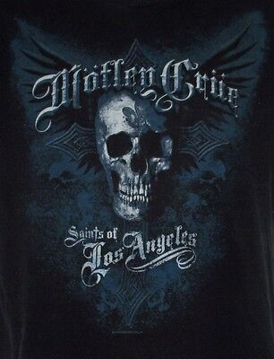 Motley Crue T Shirt Small Saints of Los Angeles Tour 2008 Rock Music