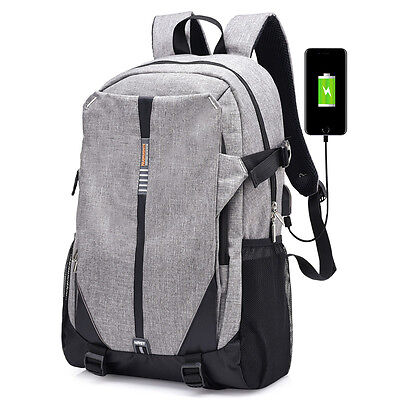 Nylon Backpack Bag 14.1Inch Laptop Notebook Mochila Waterproof Back Pack Men's