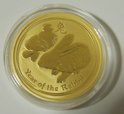 2011-1/2-oz-Gold-Australian-Perth-Mint-Lunar-Series-2-Year-of-the-Rabbit-Coin