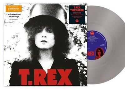 Lp Vinyl Record T.rex The Slider Silver Vinyl 1000 Only Sainsbury's Mint/sealed