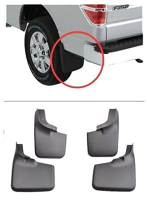 Mud Flaps Guards Front Rear Set For Ford F-150 2004-13 14 With Fender Flares