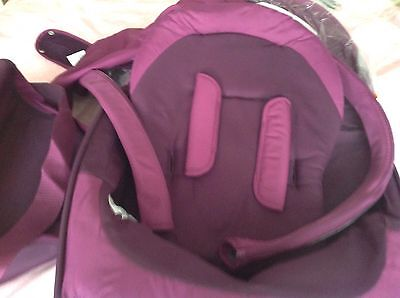 Stokke Purple Textiles,full Set V4 Bag X Display But Excellent Condition.buy Now