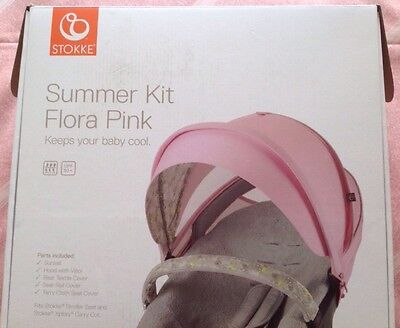 Brand New Stokke New Design Summer Kit,only Taken Out Of The Box To Take Photos.