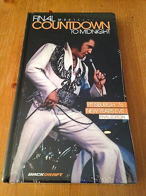 Elvis Presley - Final countdown to midnight - RARE long pack 2cd/dvd/book set