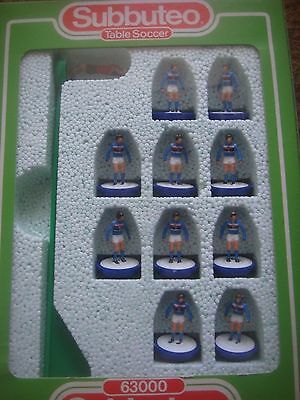 Boxed Subbuteo Football 63000 Lightweight LW Team Sampdoria - Reference: 398