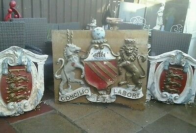 antique manchester Coat of arms from around 1896