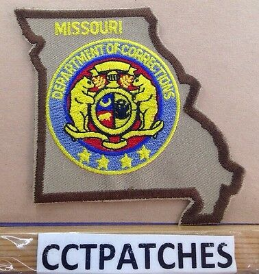 Missouri Department Of Corrections State Shape (Police) Shoulder Patch Mo
