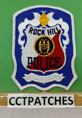 Rock Hill, Missouri Police Shoulder Patch Mo