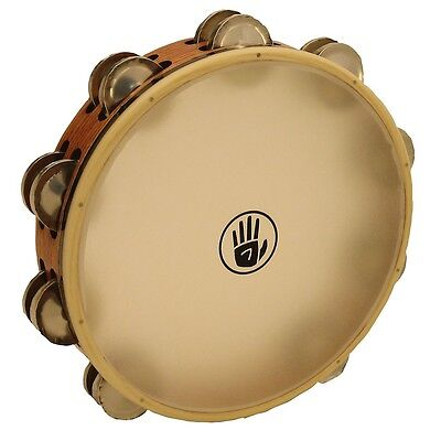 Black Swamp Percussion SoundArt 10 inch Tambourine Double Row German Silver TD3S