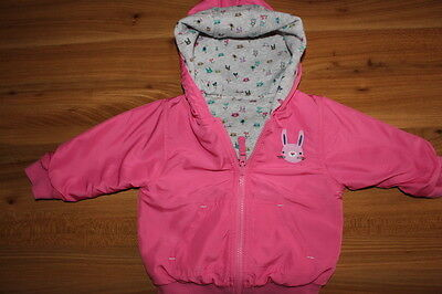NEXT girls sweet pea reversible spring coat 9-12 months *I'll combine postage