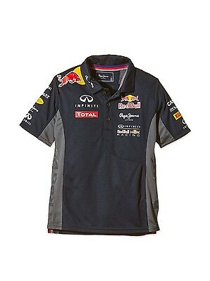 Pepe Red Bull Racing Collection Boy's OTL Functional Junior Polo Shirt Aged 8yr