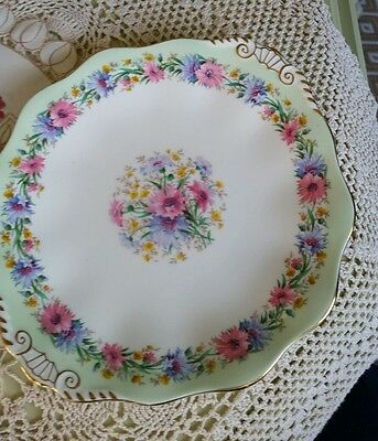 Foley Cornflower Cake Plate