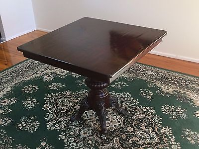 Antique Cast Iron Cafe Dining Table