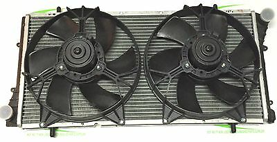 Mgf / Mg Tf /  Le500 Brand New Genuine Radiator With Twin Fans 28.5Mm Core