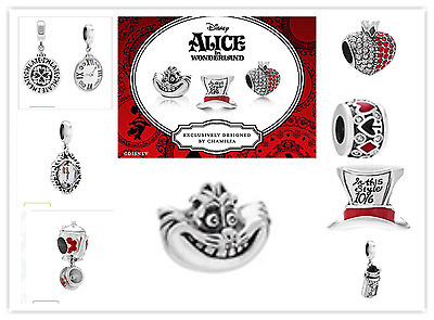 Chamilia charms disney alice in wonderland tutti disponibili in prov. di Monza