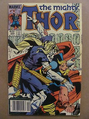 Thor #359 Marvel Comics 1966 Series Newsstand Edition