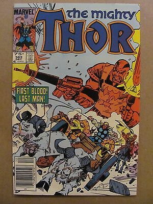 Thor #362 Marvel Comics 1966 Series Canadian Newsstand $0.75 Price Variant