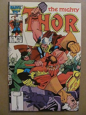 Thor #367 Marvel Comics 1966 Series