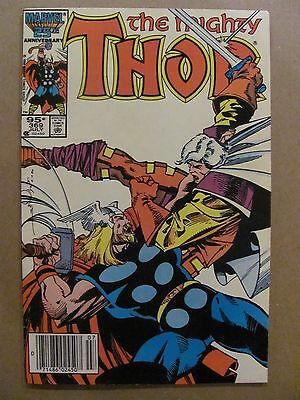 Thor #369 Marvel 1966 Series Canadian Newsstand $0.95 Price Variant 9.2 NM-