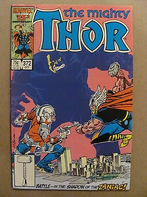Thor #372 Marvel Comics 1966 Series