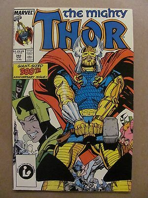 Thor #382 Marvel Comics 1966 Series Anniversary Issue 9.2 Near Mint-
