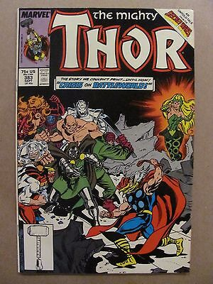Thor #383 Marvel Comics 1966 Series Secret Wars flashback