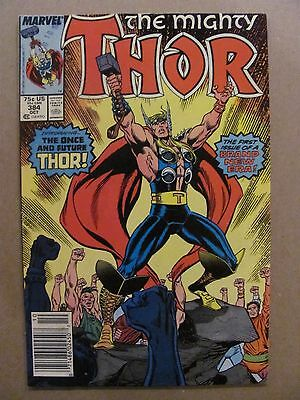 Thor #384 Marvel Comics 1966 Series Newsstand Edition