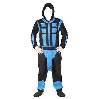 Video Game MORTAL KOMBAT Klasic SUB ZERO Union Suit Halloween Costume