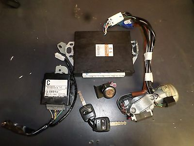 Subaru forester ignition barrel & lock set ecu body control module SG9 2005 MY06
