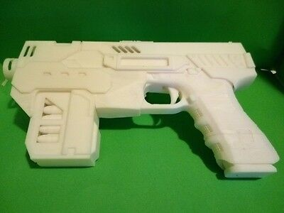 Dredd 2012 Lawgiver MK2, with correct handle, 3D printed Prop, Replica, Cosplay