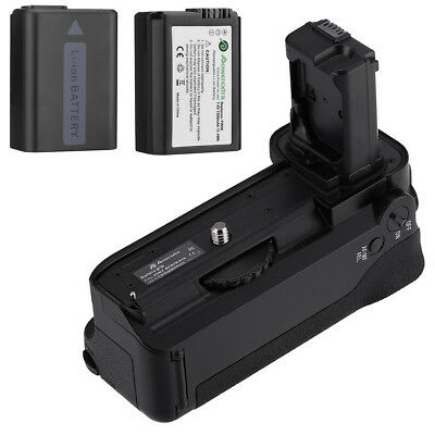 VG-C1EM Vertical Battery Grip for Sony A7 A7r A7s + 2x NP-FW50 Camera battery
