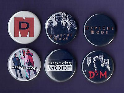 DEPECHE MODE 31mm Badge Badges Set 5 - FREEPOST