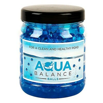 Aqua Source Balance Pond Aquarium Gel Balls Good Bacteria Ammonia Nitrite 1000ml
