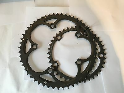 Campagnolo Super Record 11 Speed EPS chainrings - 53/39 - 135bcd - Lightly used