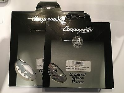 Campagnolo Record 10 Speed UT chainrings - 55/44 - 135bcd - Brand new