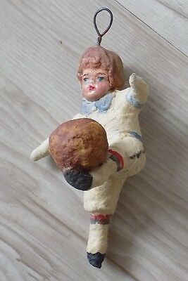 Cotton Pre-War Christmas Ornament, The Original Of The Ussr 1960 №204