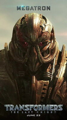 """016 Transformers 5 - The Last Knight 2017 Action Movie 14""""x24"""" Poster"""