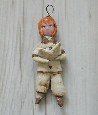 Cotton Pre-War Christmas Ornament, The Original Of The Ussr 1960 №217