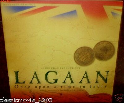 LAGAAN Once Upon A Time In India AAMIR  LIMITED EDITION PRESS BOOK BOLLYWOOD