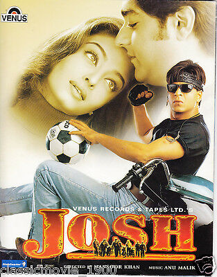 Josh (2004)Shahrukh Khan Aishwarya Rai  Press Book Bollywood
