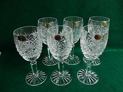 """Very Rare Full Set Of Thirty Two Tyrone """"roskeen"""" Crystal Glasses"""